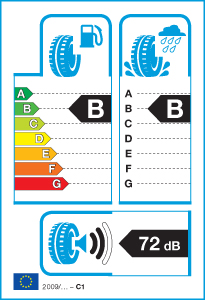 Däckverkstad Uppsala - Tabell över energimärkning av däck